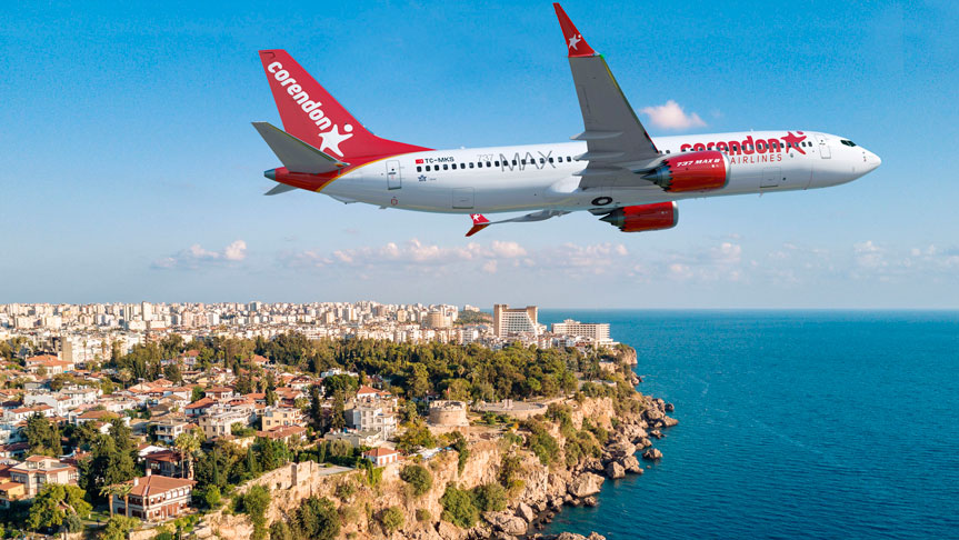Corendon Airlines'tan Ege Turizmine Tam Destek