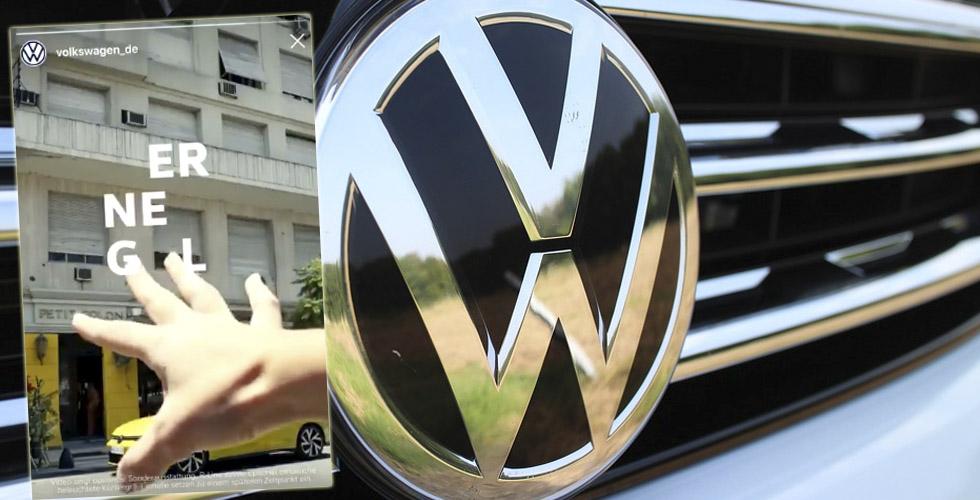 VW spotunda gizli ırkçılık
