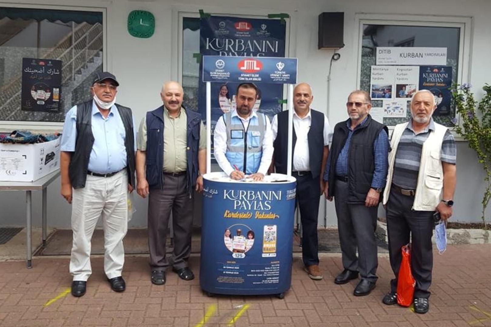 DİTİB Almanya genelinde kurban bağış standları açıyor