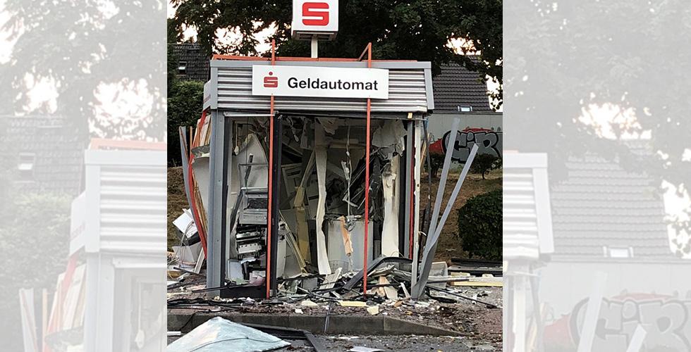 ATM harabeye döndü