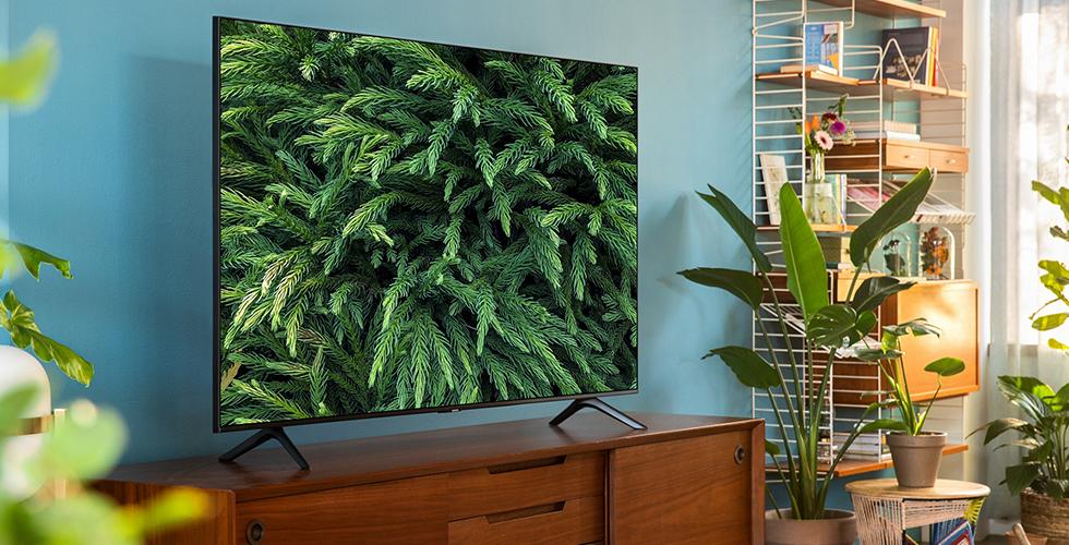 Samsung TU8000 Crystal UHD TV ile televizyonu değil görüntüleri izleyin