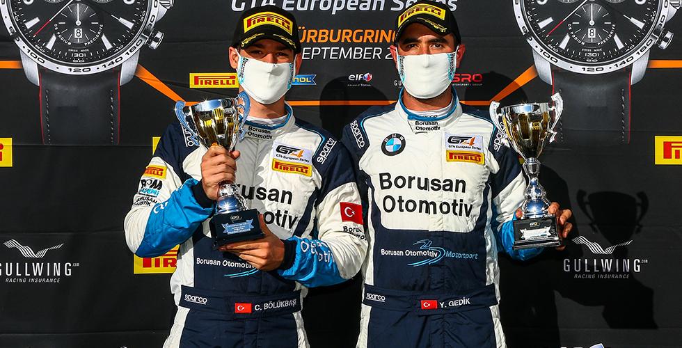 Genç Pilotları Nürburgring'de Üçledi