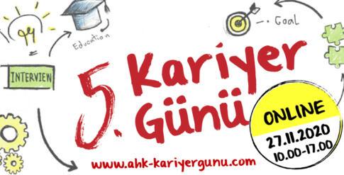 """""""5. KARİYER GÜNÜ"""" ONLINE GERÇEKLEŞECEK"""