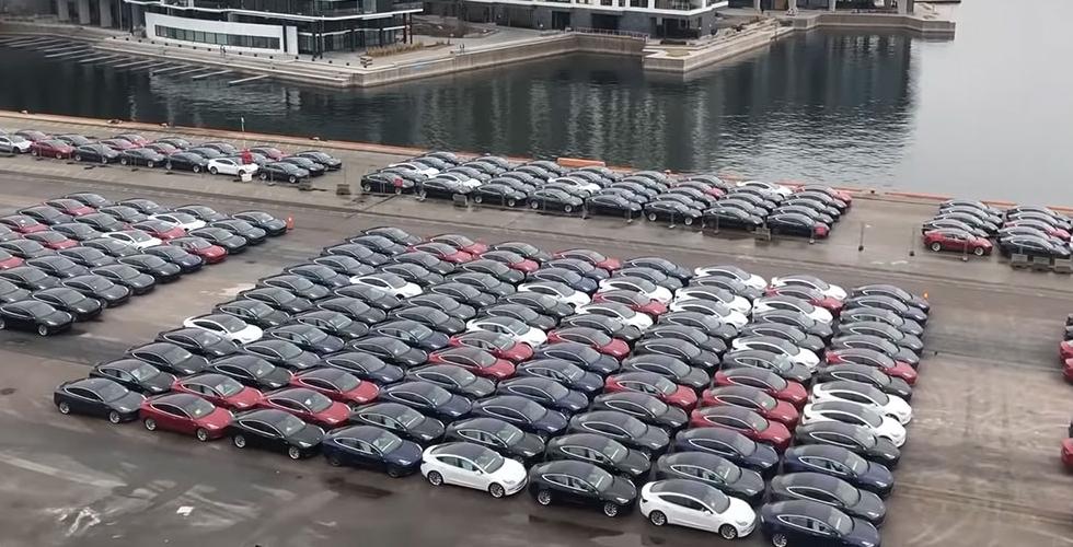 Çin'de üretilen Teslalar'ın Avrupa'ya ihracatı başladı