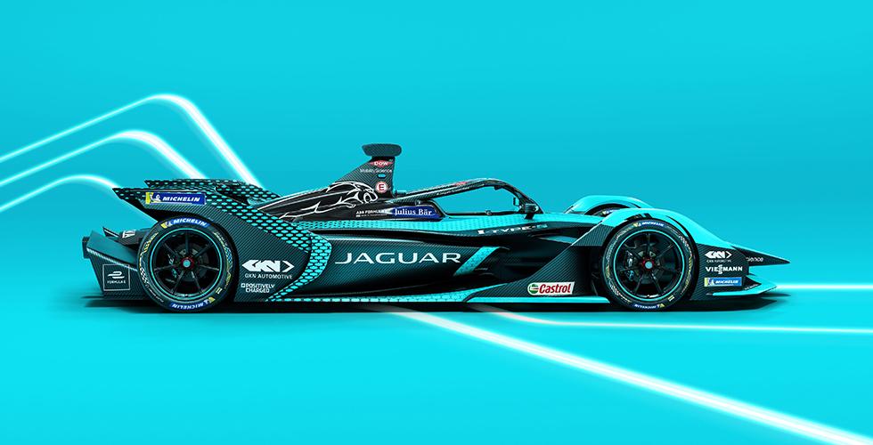 Jaguar'ın Yeni Elektrikli Yarış Otomobili I-TYPE 5