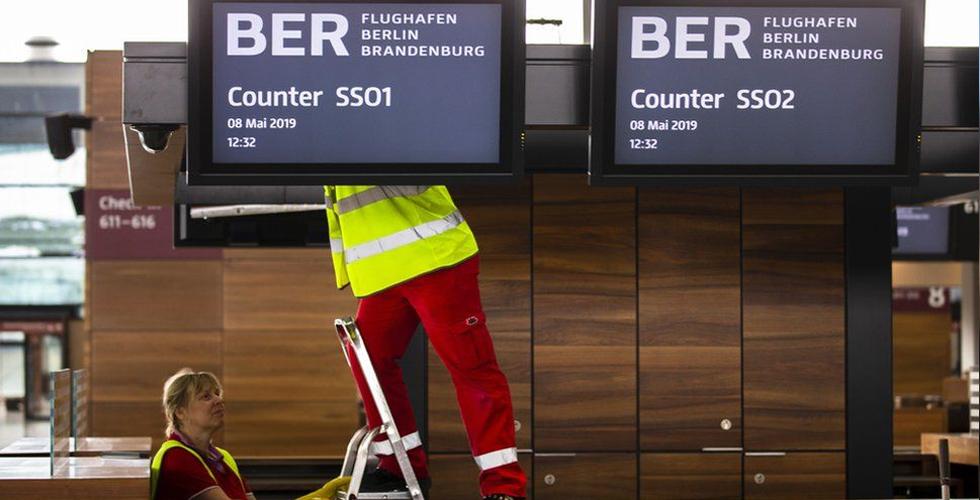 BER Havalimanısonunda açıldı