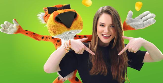 Miray Daner'den Cheetos için eğlenceli şarkı