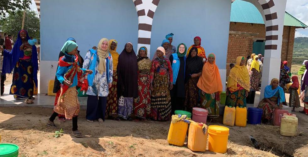 DİTİB cami dernekleri Afrika'da susuzluğa umut oldu