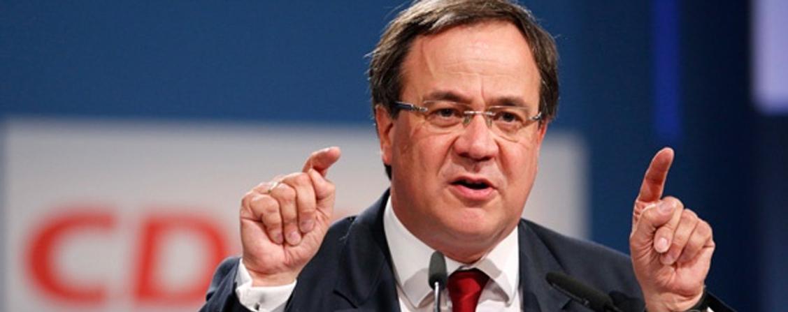 CDU'nun yenipatronu Armin Laschet
