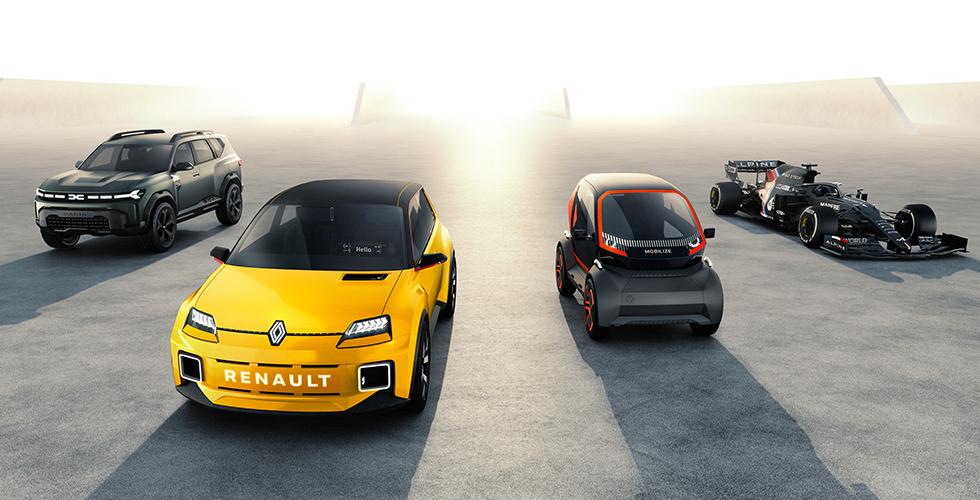 Renault 5 Prototip'i tanıttı