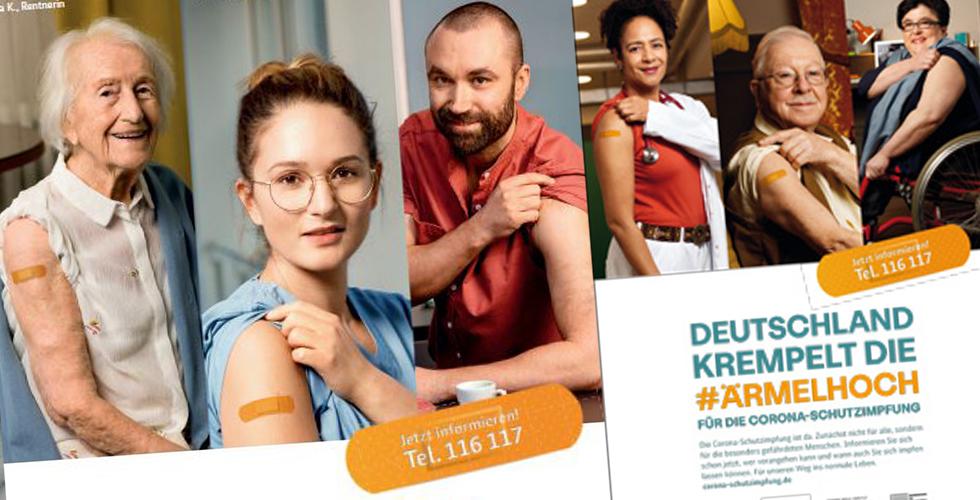 Almanya aşı için kolları sıvadı