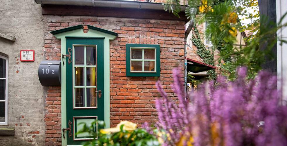 Almanya'nın en küçük evi satıldı