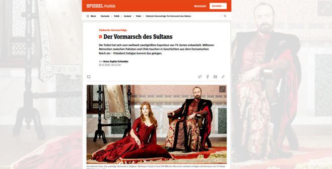 Alman dergisinden Türk dizilerine övgü
